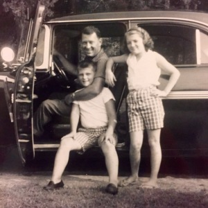 Daddy in 1959, 3 years before I was born with my brother and sister.