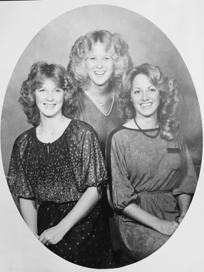 West Davidson High School Class of 1980: Susie Swicegood, Tracy Bauernfeind and Lisa Jacobs