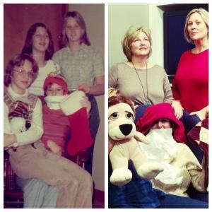 Mags Circa 1975 and 2015
